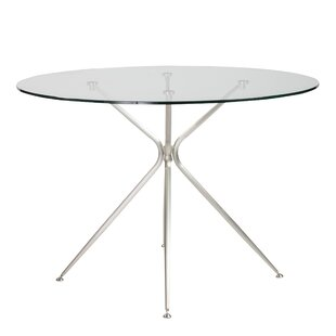 Berndt Round Dining Table by Orren Ellis Bargaint