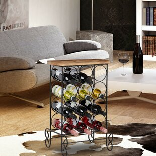 Marley 12 Bottle Wine Rack By Ophelia & Co.