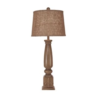 Lawing Fleur De Lis Candlestick 31 Table Lamp
