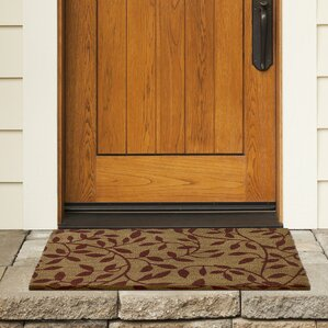 Godbold Leaves Coir Doormat & Outdoor Coir Door Mat | Wayfair pezcame.com