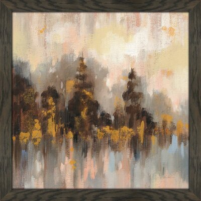 """'Blushing Forest II' Acrylic Painting Print Union Rustic Size: 39.5"""" H x 39.5"""" W x 0.75"""" D"""