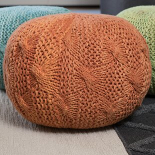 Savings Morrow Pouf By Bungalow Rose