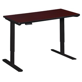 Pelzer Height Adjustable Standing Desk by Symple Stuff Bargain