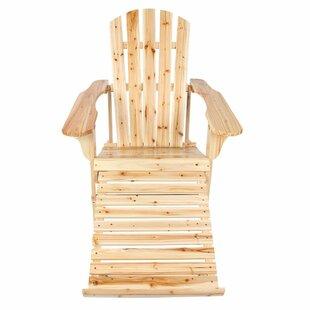 Millwood Pines Wilhite Wooden Adirondack Chair