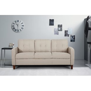 Shop Rossetti Mid Century Tufted Sofa by Latitude Run