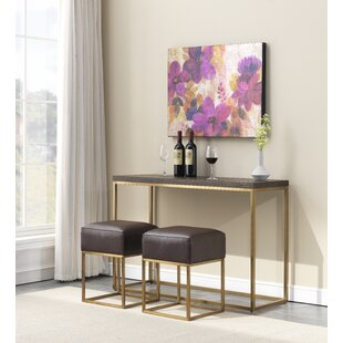 Console Table With Stools Wayfair Ca