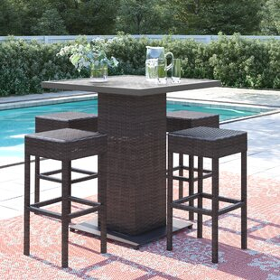 Stratford 5 Piece Bar Height Dining Set