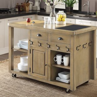 Ferreiro Modern Kitchen Island August Grove