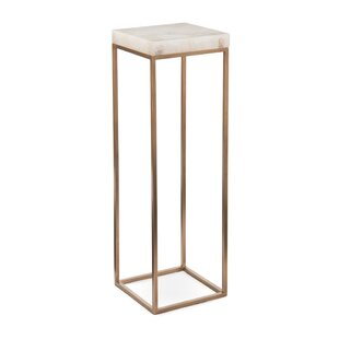 Calcite Pedestal Plant Stand by John-Richard