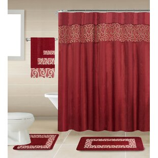 Looking for Massey Shower Curtain Set ByDarby Home Co