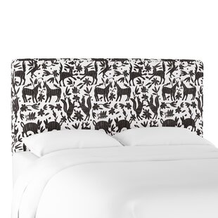 Leonetti Seam Upholstered Panel Headboard by Bungalow Rose