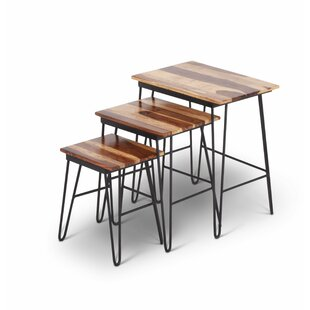 Read Reviews Graham 3 Piece Nesting Tables by Union Rustic