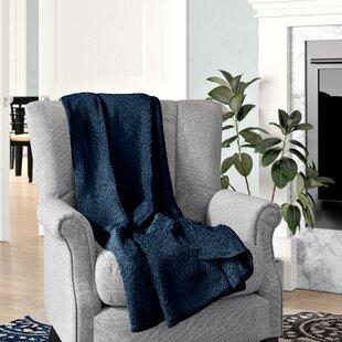 Geoff Modern Velvety Fleece Blanket