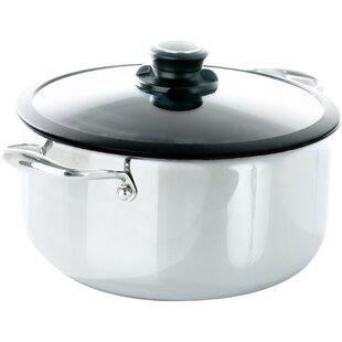 Black Cube™ 7.5-qt. Stock Pot with Lid