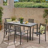 David Outdoor 7 Piece Dining Set