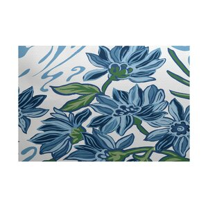 Neville Blue Indoor/Outdoor Area Rug