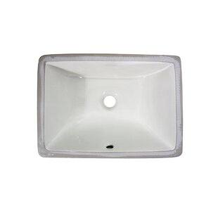 Nantucket Sinks Great Point Ceramic Recta..