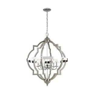 Bennington 4-Light Geometric Chandelier By Birch Lane™ Ceiling Lights