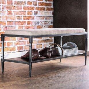 Celestiel Metal Storage Bench by 17 Stories