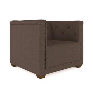 Canora Grey Augill Linen Barrel Chair