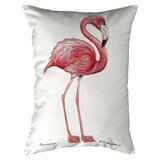 Flamingo Garden Stake Throw Pillows You Ll Love In 2020 Wayfair