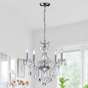 House of Hampton Broadmere 5-Light Candle Style Chandelier