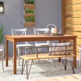 3-Piece Chevron Outdoor Patio Dining Set
