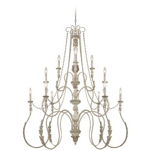 Astoria Grand Westerlund 12-Light Candle Style Chandelier