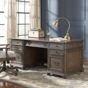 Westgrove Solid Wood Executive Desk by Birch Lane™ Heritage