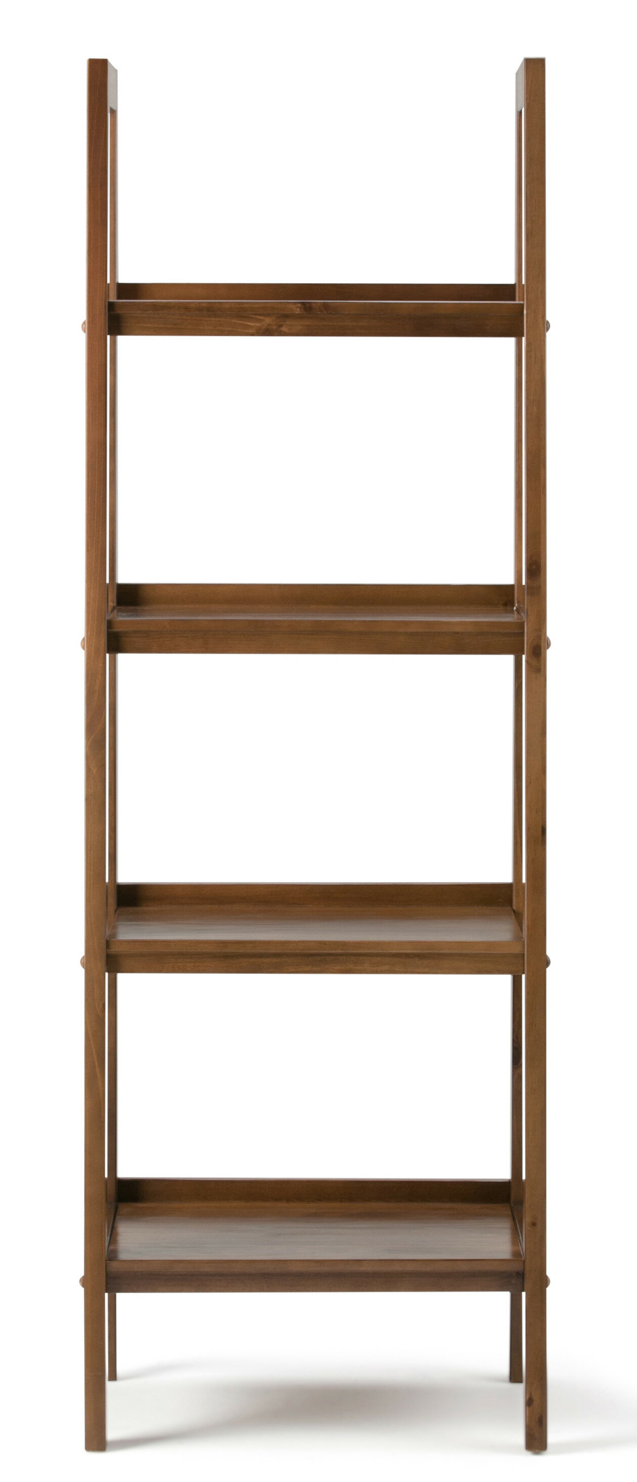 Enticing Bayside Furnishings Ladder Bookcase Officehom