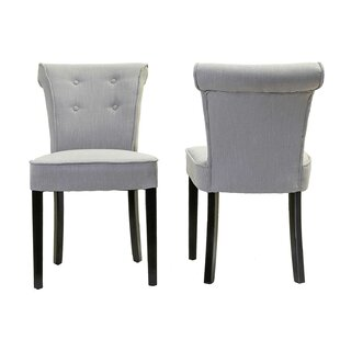 Affordable Blouin Upholstered Dining Chair (Set of 2) by Charlton Home Reviews (2019) & Buyer's Guide