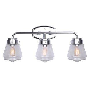 Gracie Oaks Nickalls 3-Light Vanity Light