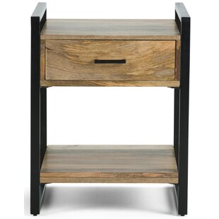 Sturdevant End Table with Storage by Williston Forge