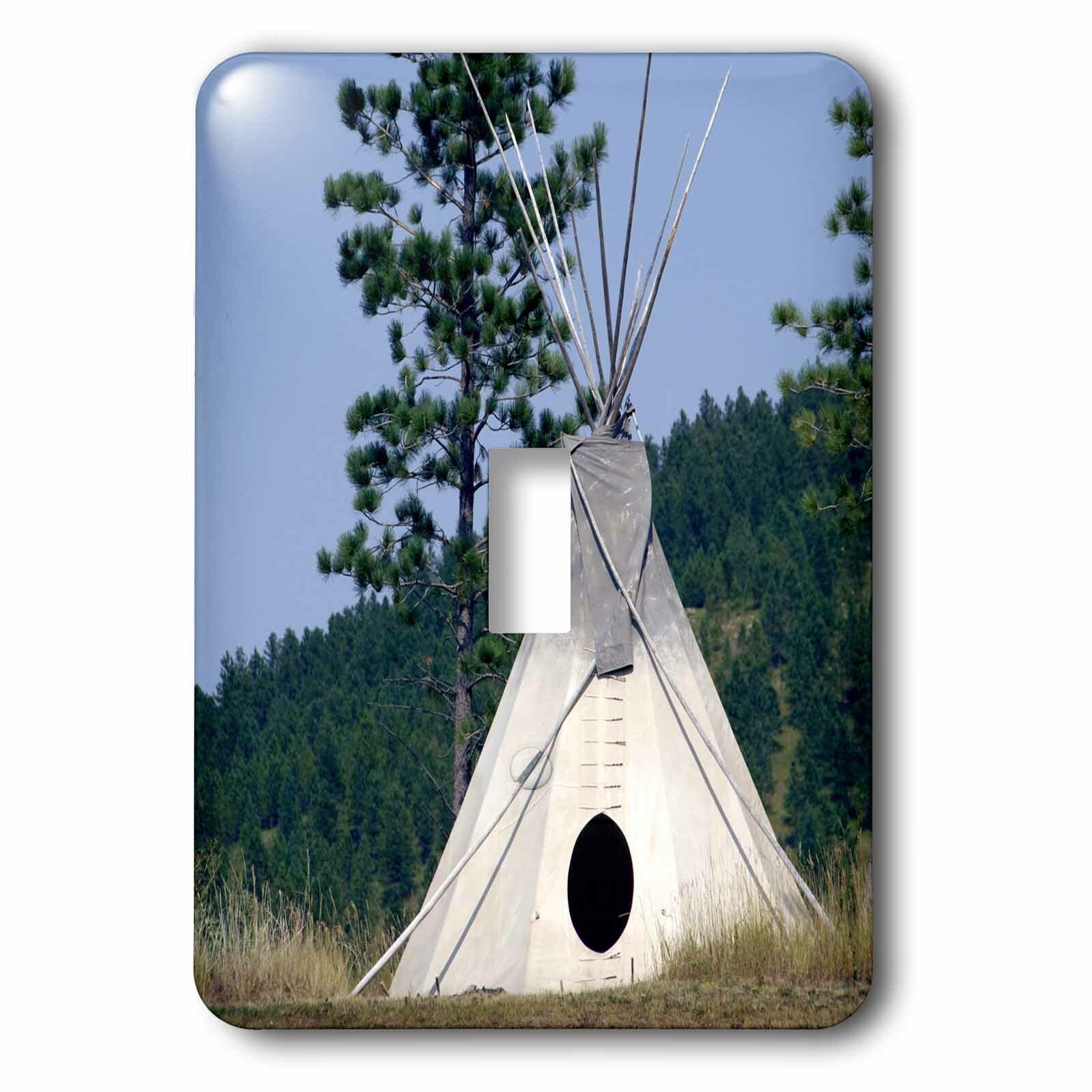 3drose Sd Lakota Indian Teepee Native American 1 Gang Toggle Light Switch Wall Plate Wayfair