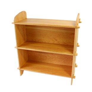 Vazquez Cherry Solid Wood with Wood Backing 34 Bookshelf