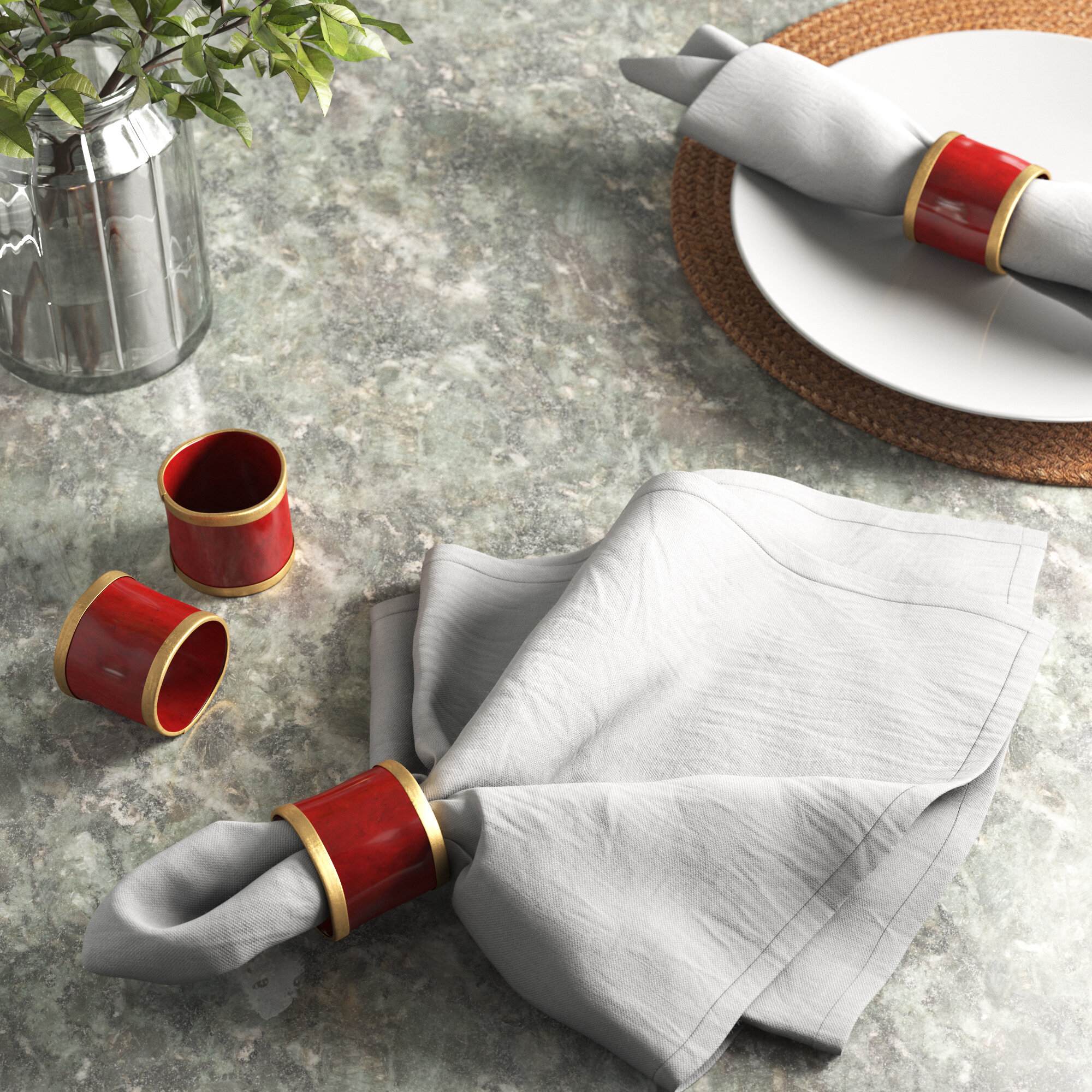 Christmas Napkin Rings Free Shipping Over 35 Wayfair
