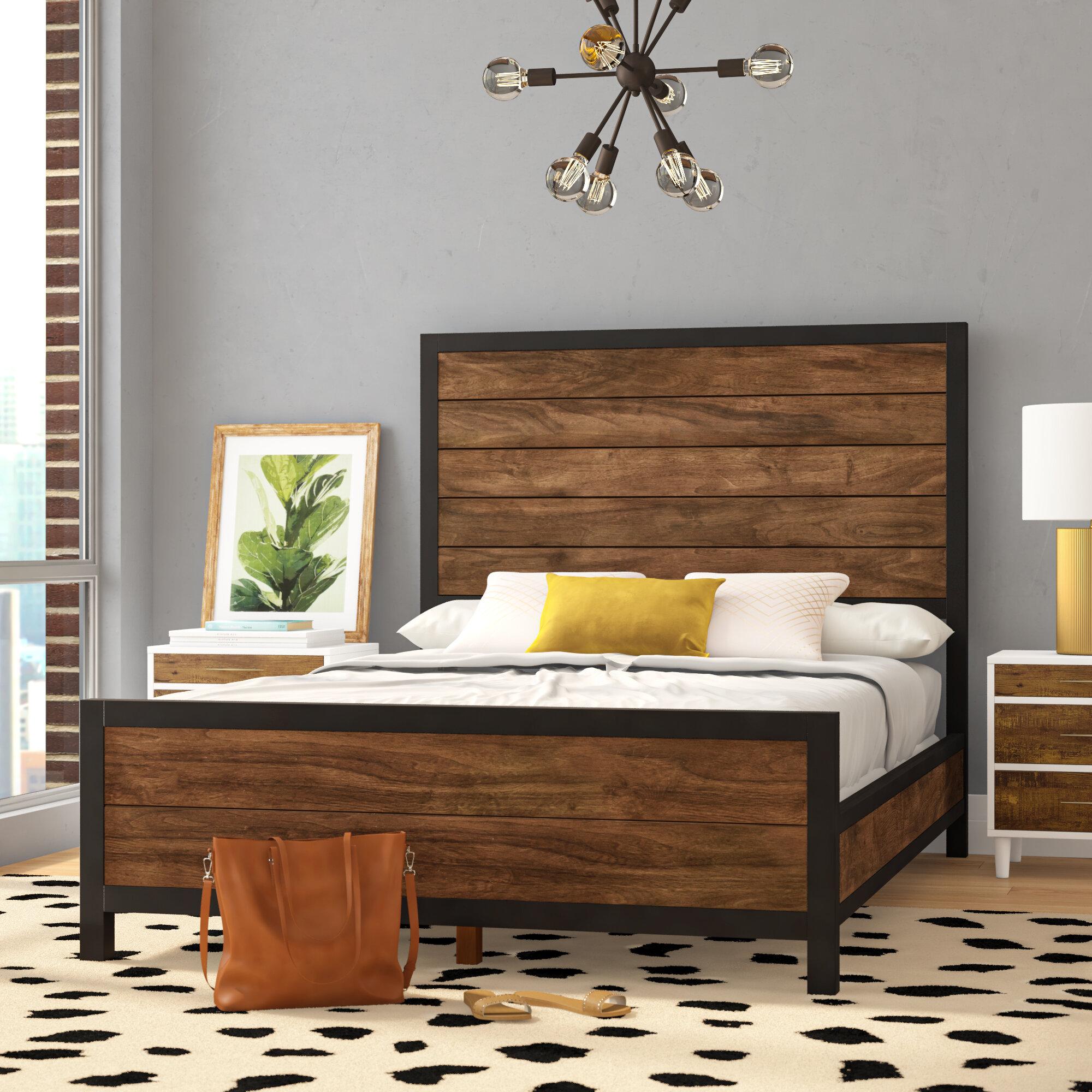 Wilma Standard Bed Reviews Allmodern
