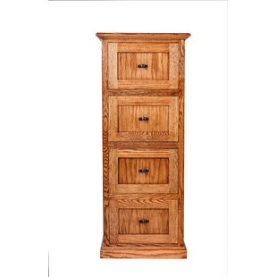 Torin 4 Drawer Vertical File by Millwood Pines