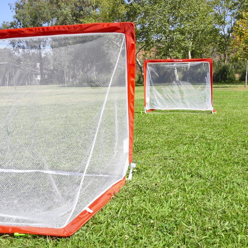 27cce9dc8 GoSports Foldable Pop Up Soccer Goals | Wayfair