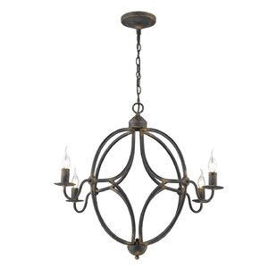 Bungalow Rose Darla 4-Light Candle Style ..