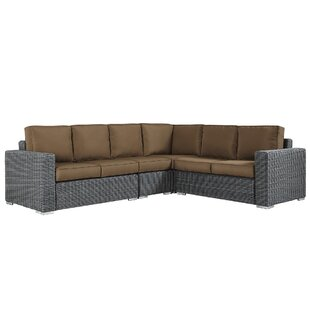 Darby Home Co Rathdowney Sectional with Cushions