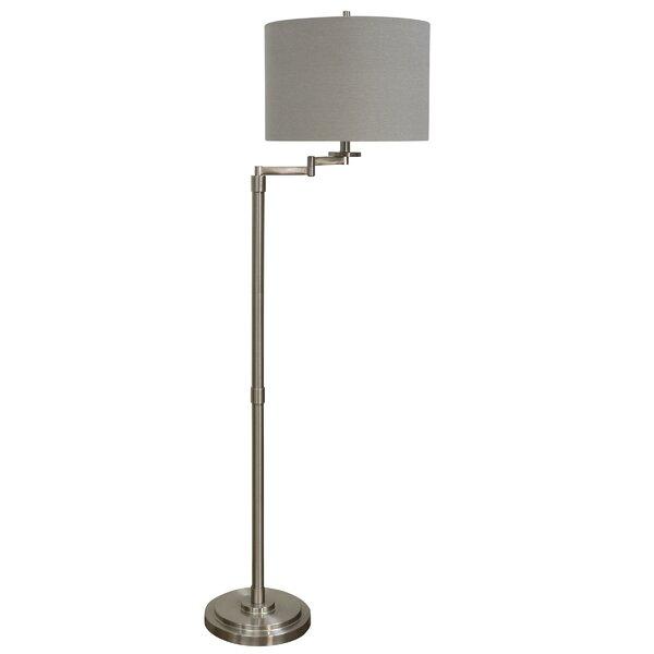 Darby Home Co Sefton 62 Swing Arm Floor Lamp Reviews Wayfair