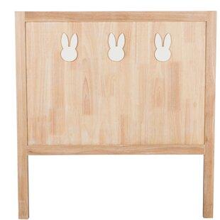 Best Price Maxwellton Children 3 Rabbit Wood Single Headboard