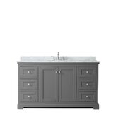 Avery 60 Single Bathroom Vanity Set by Wyndham Collection