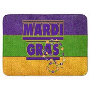Mardi Gras Memory Foam Bath Rug