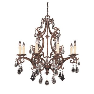 Astoria Grand Marina Way 8-Light Candle Style Chandelier