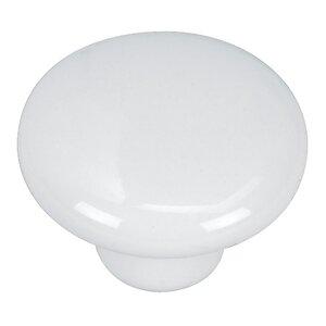 Porcelain Mushroom Knob