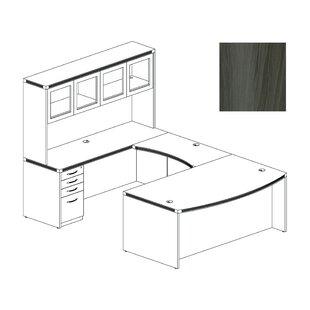 Mayline Group Aberdeen U-Shape Desk Office Suite