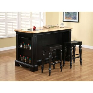 Darby Home Co Hofmeister Kitchen Island Set