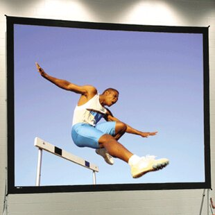 Black Portable Projection Screen
